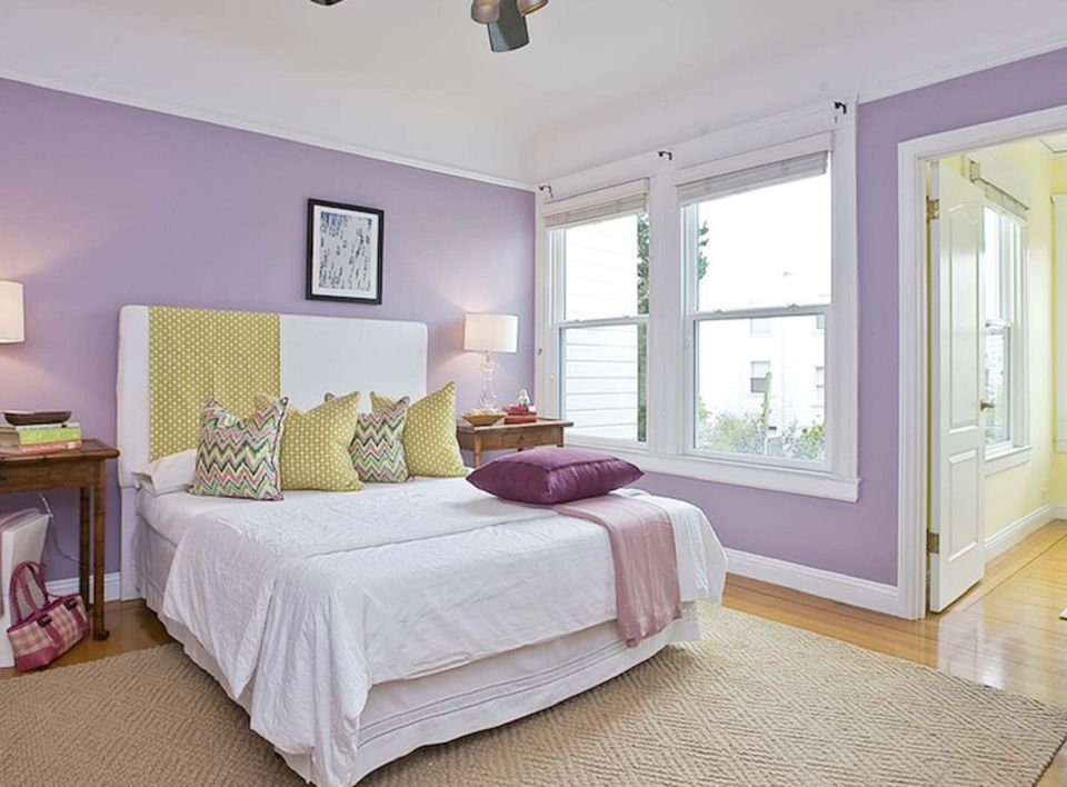 Best Tips And Photos For Decorating The Bedroom With Lavender With Pictures