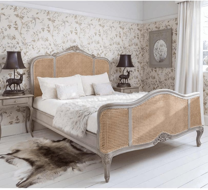 Best Normandy Rattan Painted Luxury French Bed Beds With Pictures