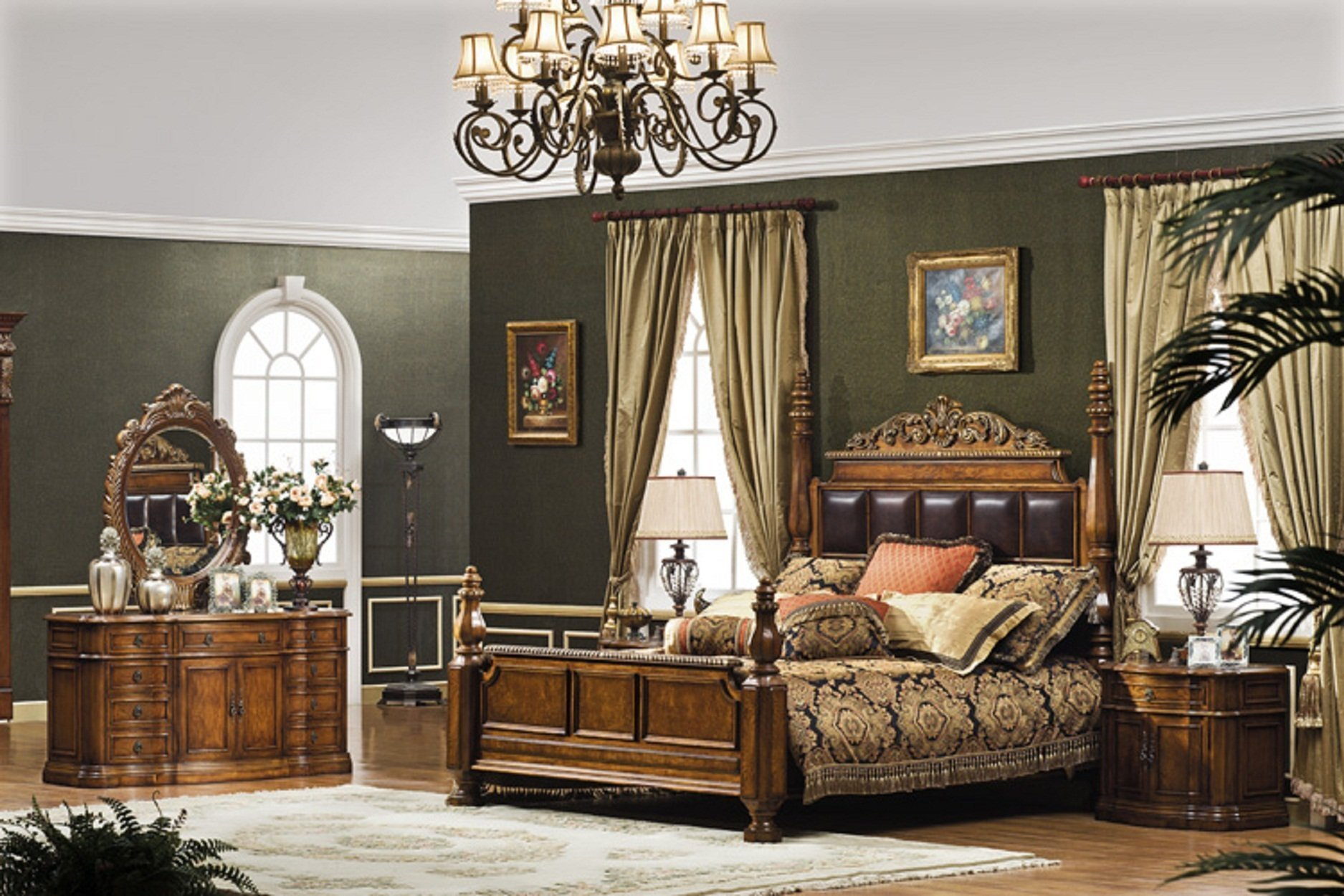 Best The Monaco Formal Bedroom Collection Bedroom Furniture With Pictures
