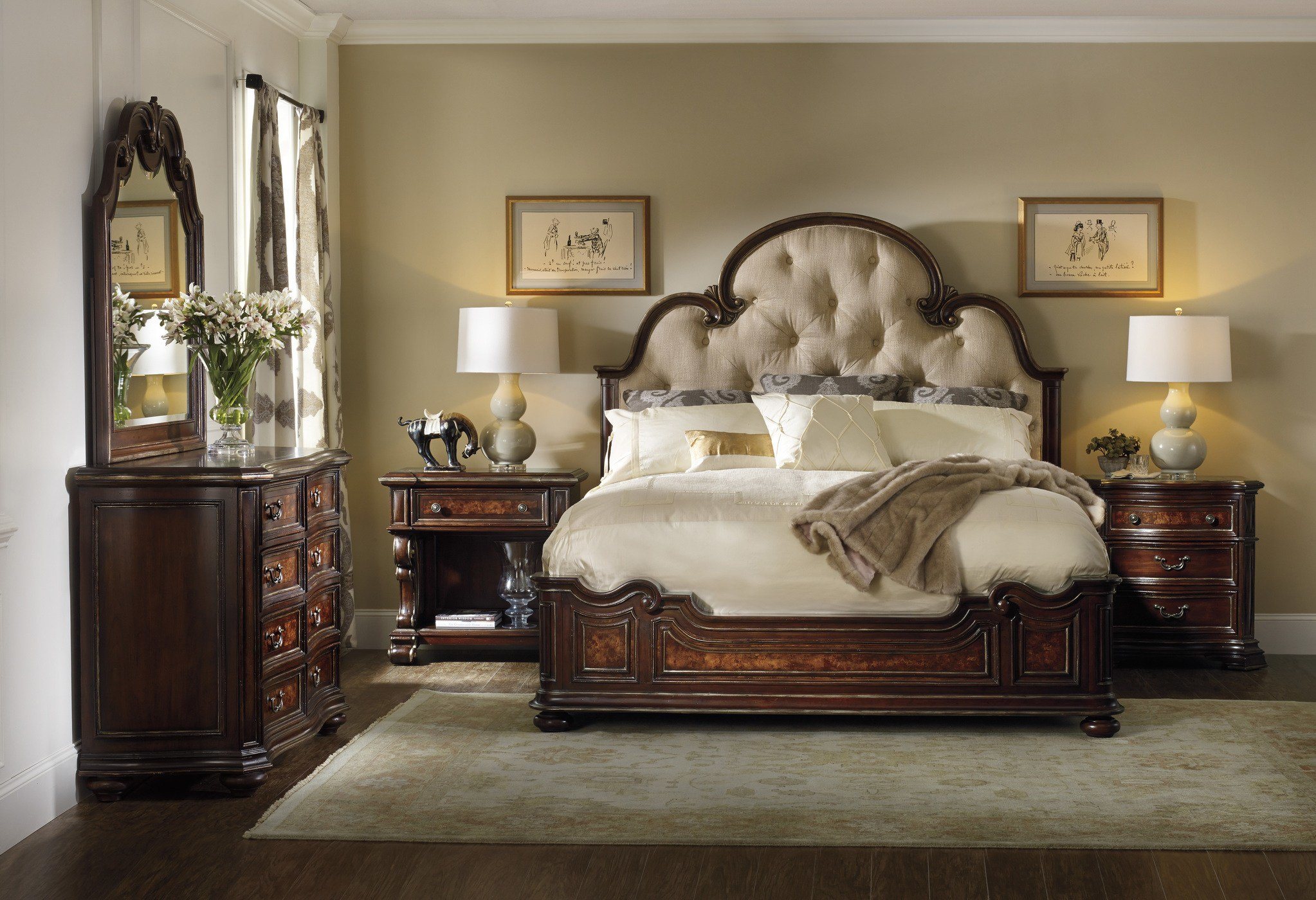 Best The Grand Palais Upholstered Bedroom Collection With Pictures