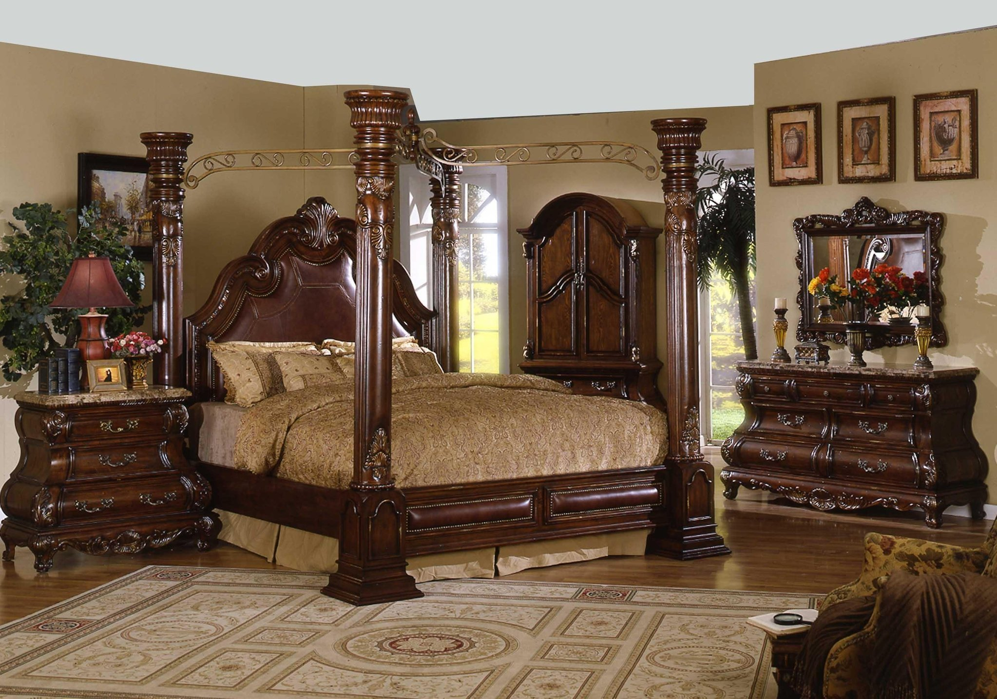 Best Canopy Bed Canopy Bedroom Sets Four Post Canopy Bed With Pictures