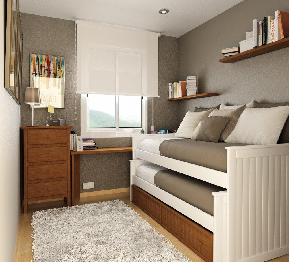 Best 9 Clever Ideas For A Small Bedroom With Pictures
