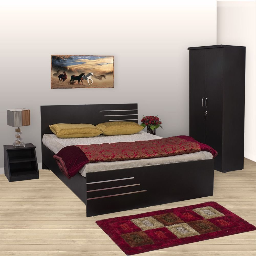 Best Bharat Lifestyle Amsterdam Bedroom Set Queen Bed With Pictures