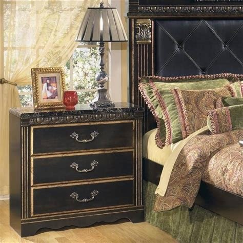 Best Ashley Coal Creek B175 King Size Mansion Bedroom Set 5Pcs With Pictures