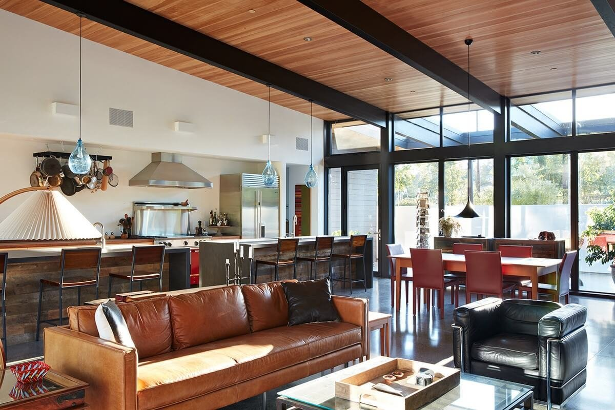 Best Tour A Home Inspired By California Modernism Nonagon Style With Pictures