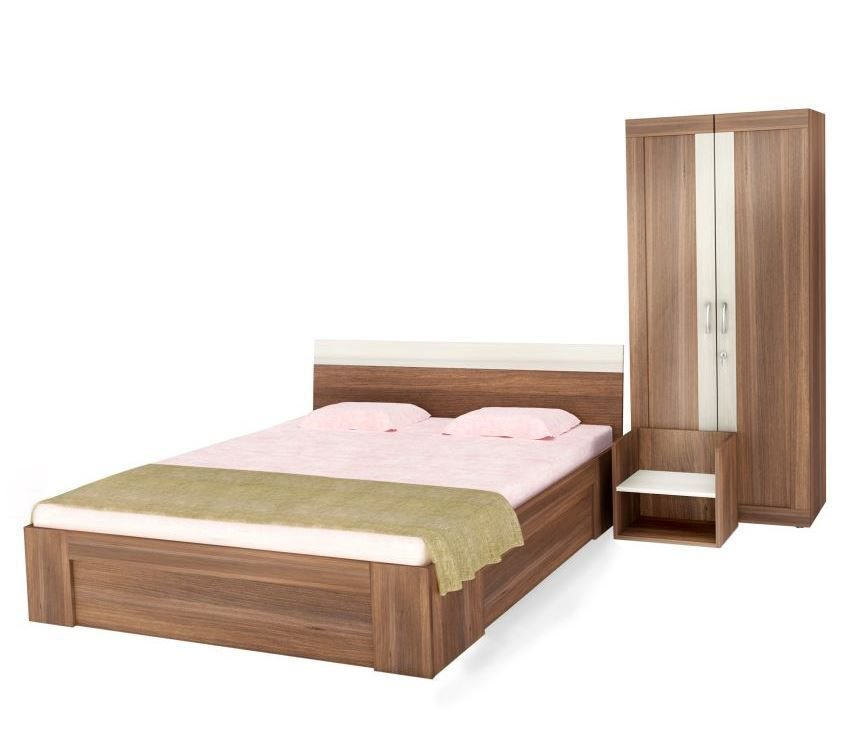 Best Unicos Atlanta Bedroom Set In Dual Tone I Buy Unicos With Pictures