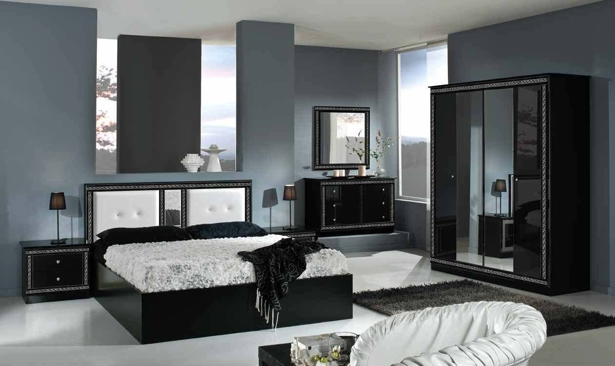 Best Italian Versace Style Bedroom With Sliding Wardrobe With Pictures