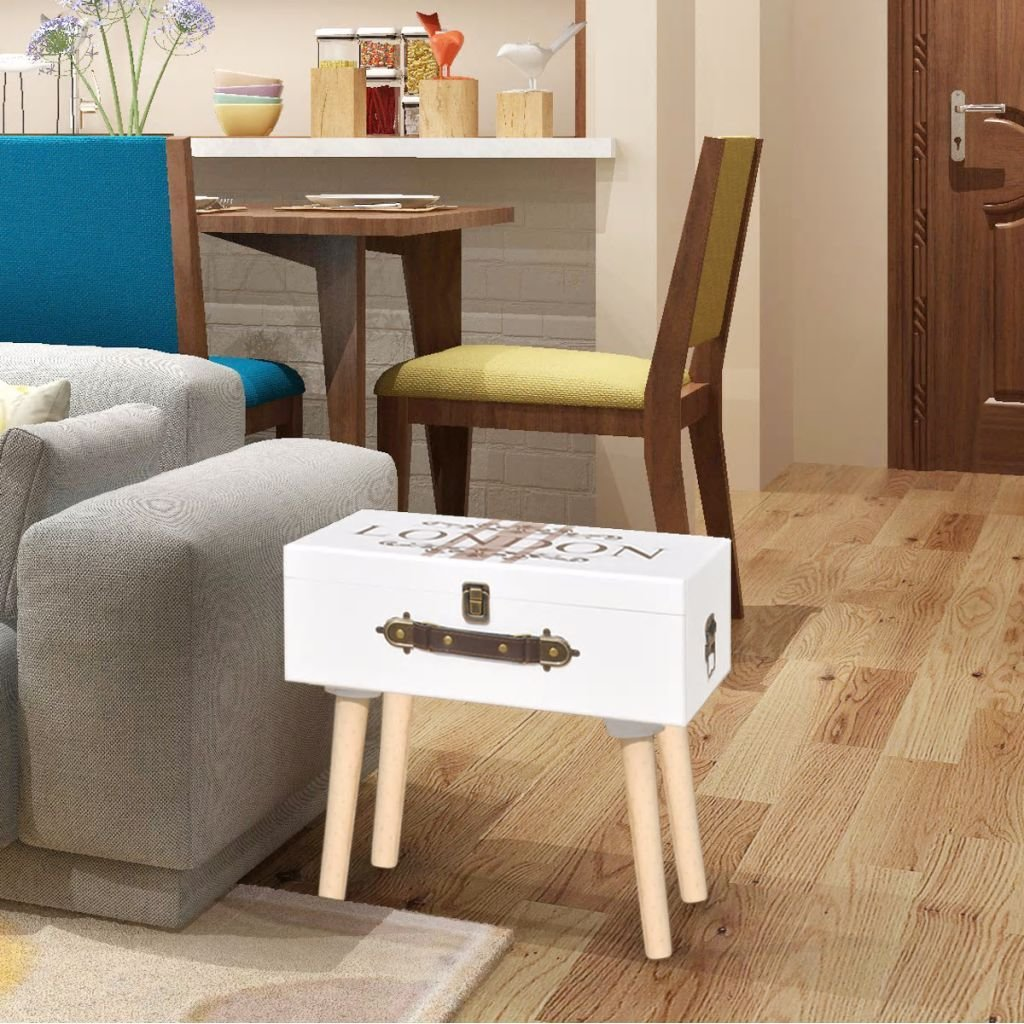 Best Suitcase Shape Side Cabinet Telephone Stand Bedroom With Pictures
