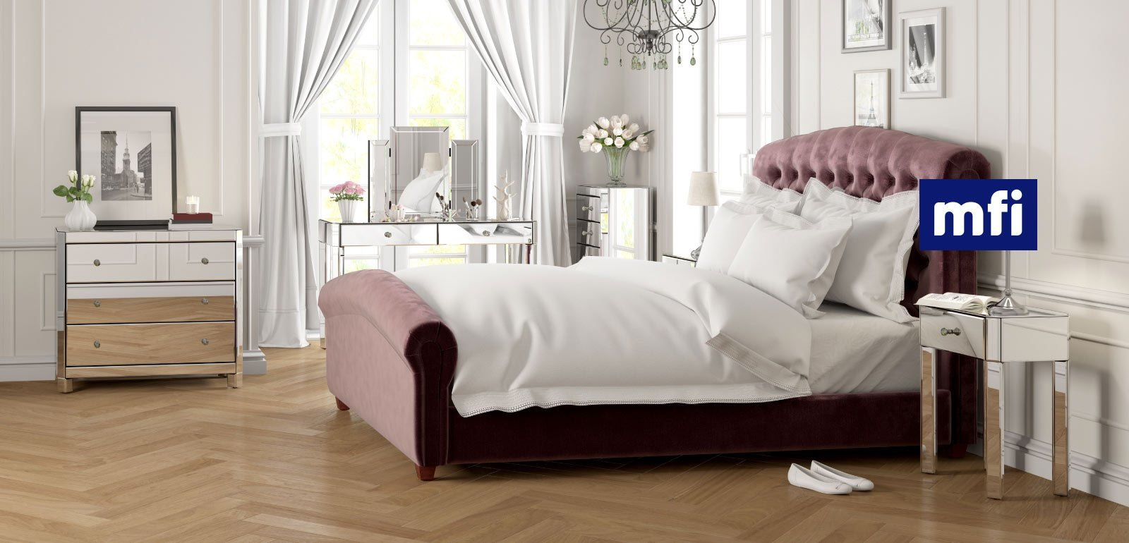 Best Mirrored Glass Bedroom Furniture Victoriaplum Com With Pictures