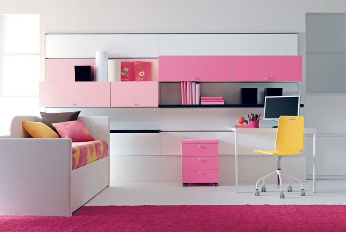 Best Office Furniture Computers Desks Lovely Girly Home Desk With Pictures