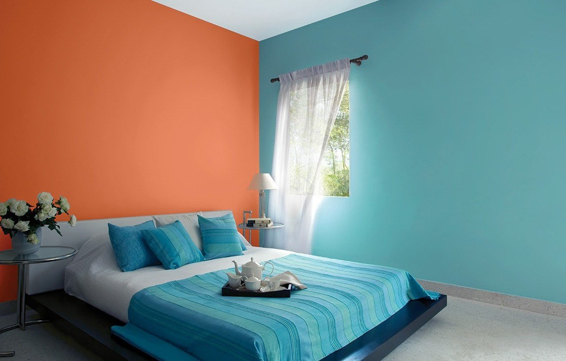 Best Bedroom Wall Color Combinations Asian Paints Designs Chaos With Pictures