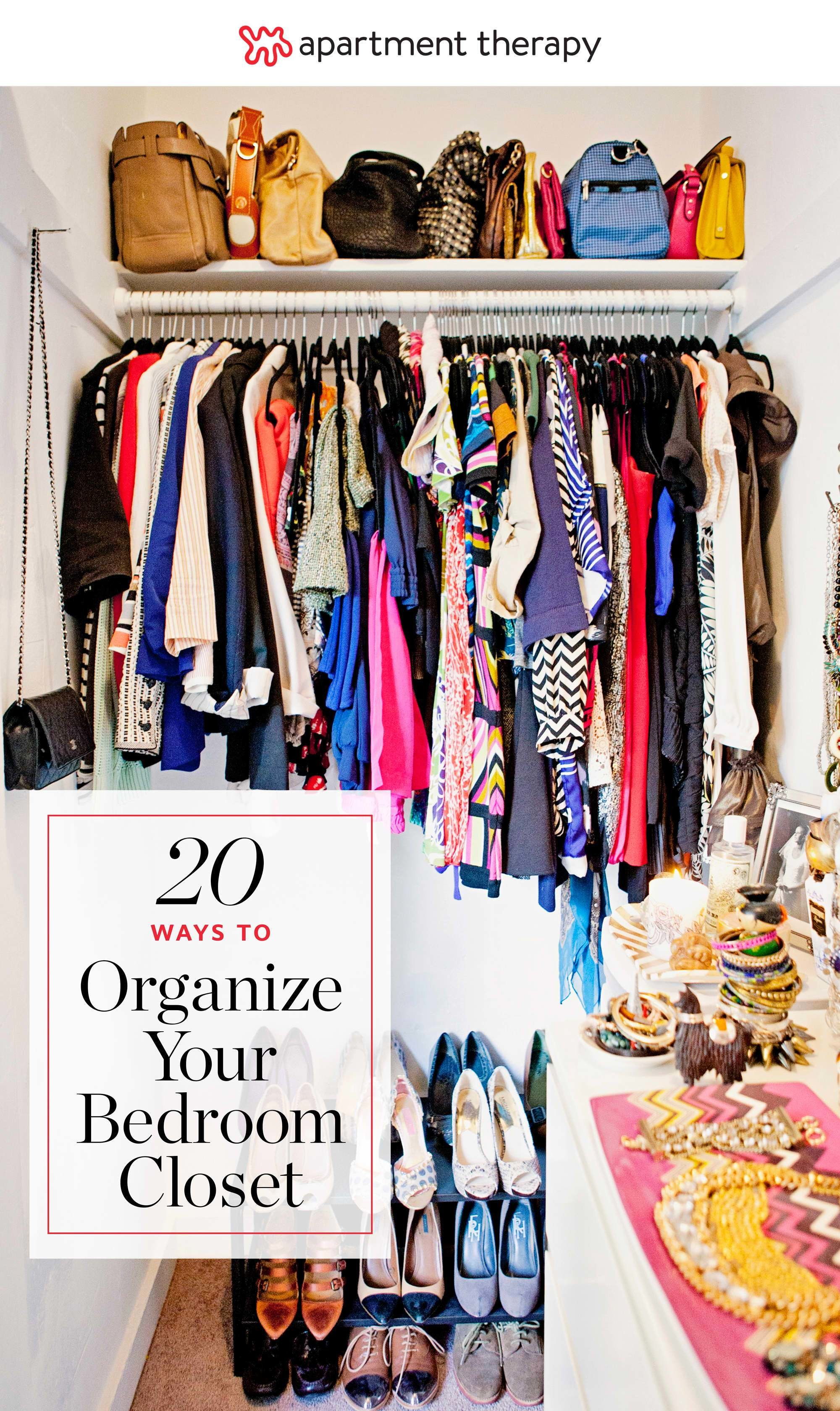 Best 20 Ideas For Organizing Your Bedroom Closet Apartment With Pictures