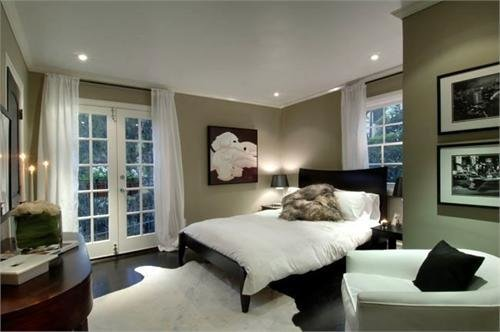 Best Taupe Paint Contemporary Bedroom Hgtv With Pictures