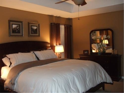Best Warm Brown And Simple Master Retreat Bedrooms Rate My Space Hgtv With Pictures
