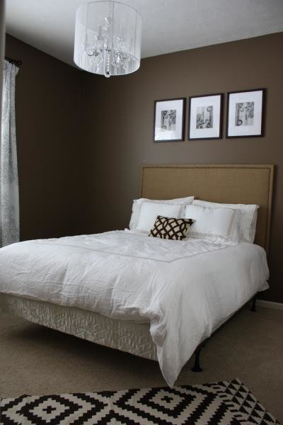 Best Brown Colored Walls Contemporary Bedroom Behr Mocha With Pictures