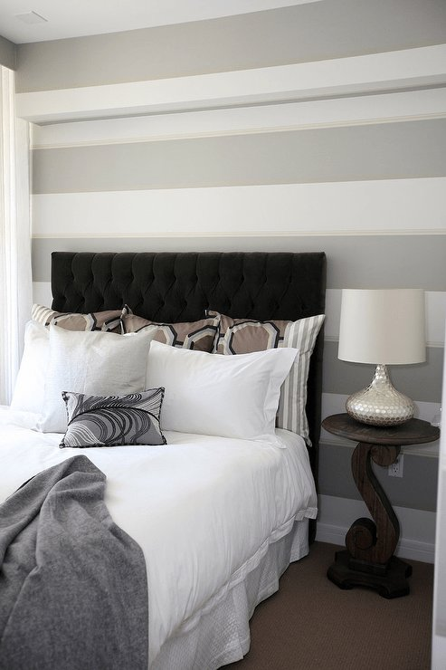 Best Gray Tufted Headboard Design Ideas With Pictures