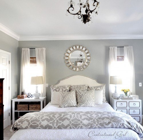 Best Silver Bedding Contemporary Bedroom Centsational Girl With Pictures