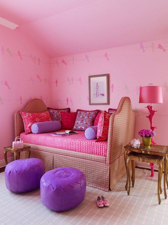 Best Purple Girls Room French Girl S Room Meredith Mcbrearty With Pictures