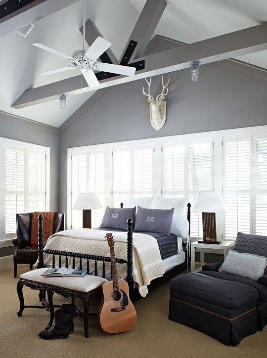 Best Blue And Gray Boy S Room Transitional Boy S Room With Pictures