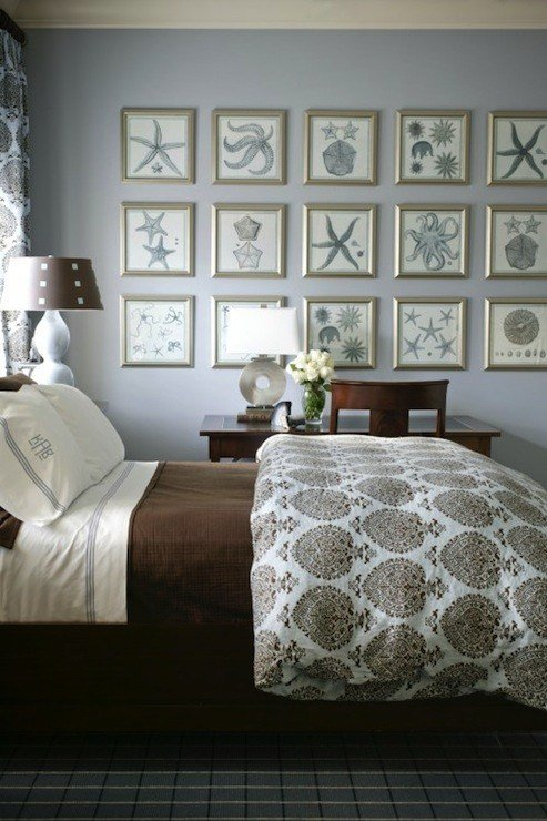 Best Brown And Gray Bedrooms Cottage Bedroom Sherwin With Pictures
