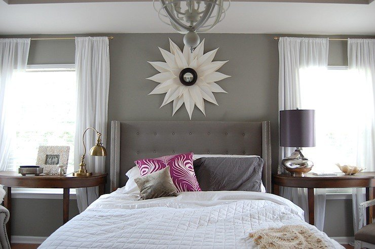 Best Gray Walls Contemporary Bedroom Martha Stewart With Pictures