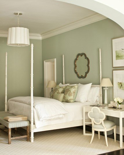 Best White Four Poster Bed Transitional Bedroom Phoebe Howard With Pictures