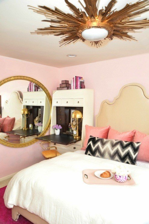 Best Pink Bedroom Ideas Eclectic Bedroom Dalliance Design With Pictures