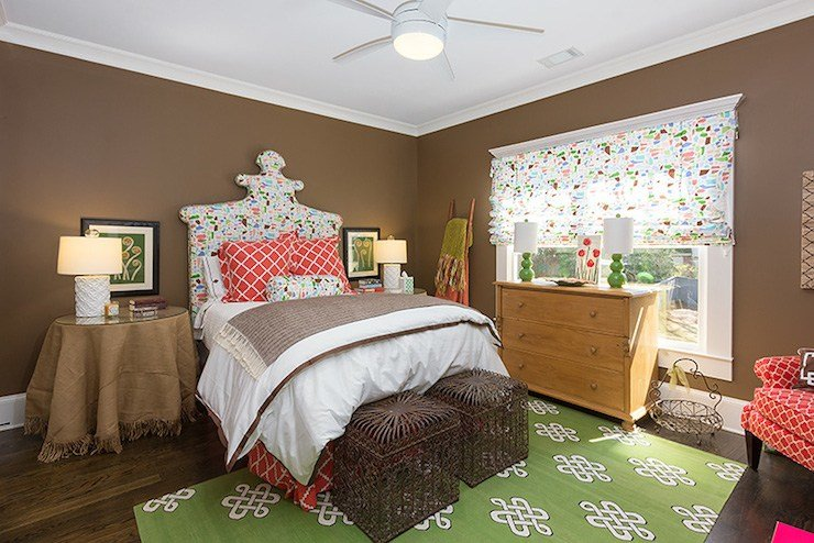 Best Brown And Green Bedroom Eclectic Bedroom Colordrunk Design With Pictures