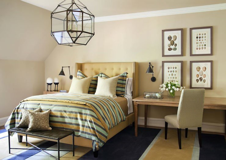 Best Lighting Over Nightands Contemporary Bedroom House Of Honey With Pictures