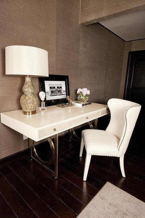 Best Master Bedroom With Desk Transitional Bedroom With Pictures