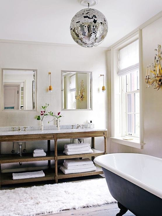 Best Bathroom Disco Ball Design Ideas With Pictures