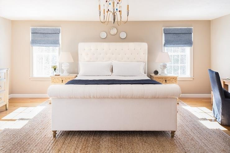 Best Blue And Cream Bedroom Design With Pictures