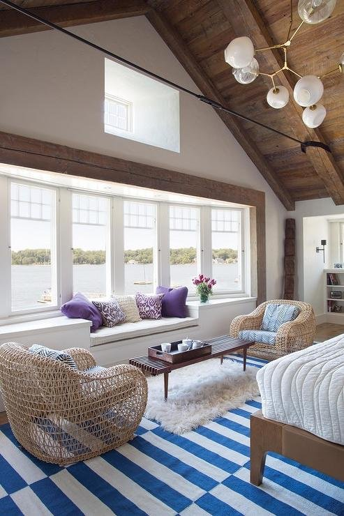 Best Lakeside Bedroom Sitting Area With Built In Window Seat With Pictures