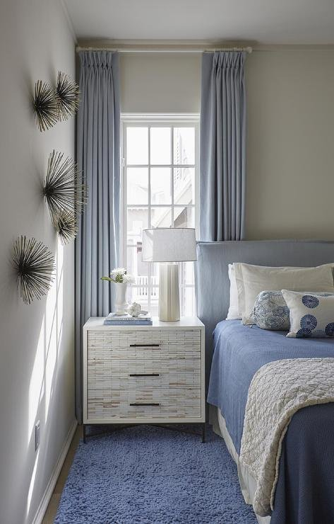 Best White And Blue Cottage Boy Bedroom With Global Views Brass With Pictures