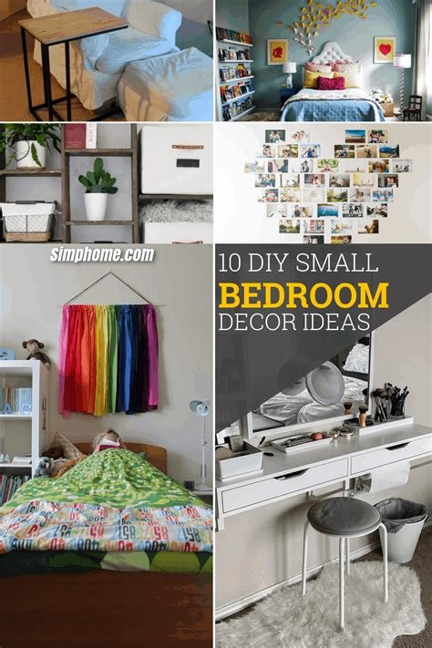 Best 10 Diy Small Bedroom Decorating Ideas Simphome With Pictures