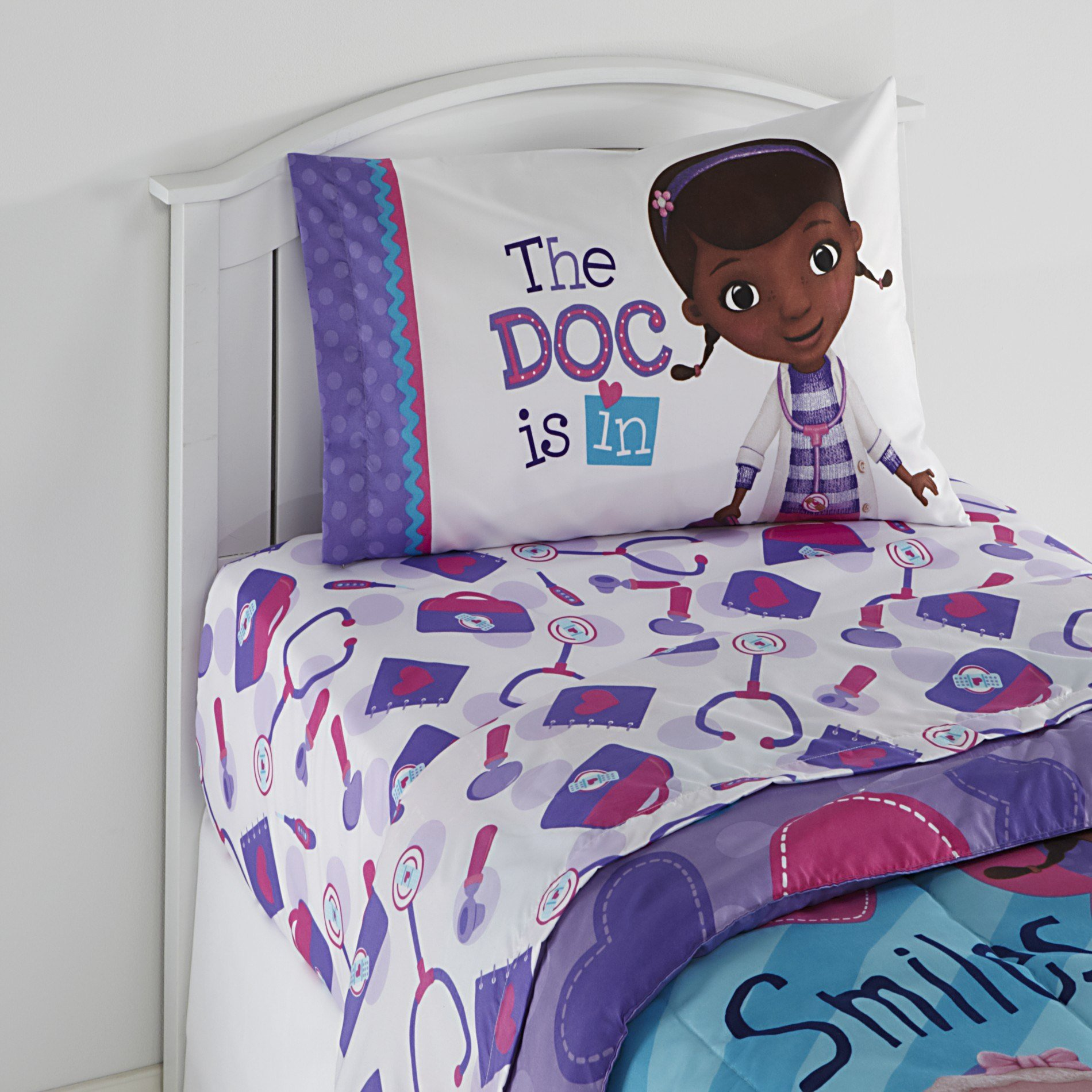 Best Disney Doc Mcstuffins Girl S Twin Sheet Set With Pictures