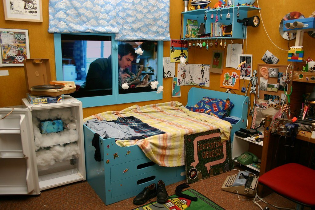 Best Detail Of Set Of Stephane S Childhood Bedroom From Michel With Pictures