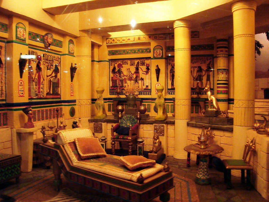 Best A Room In Ancient Egypt Place Miniatures Museum Of With Pictures