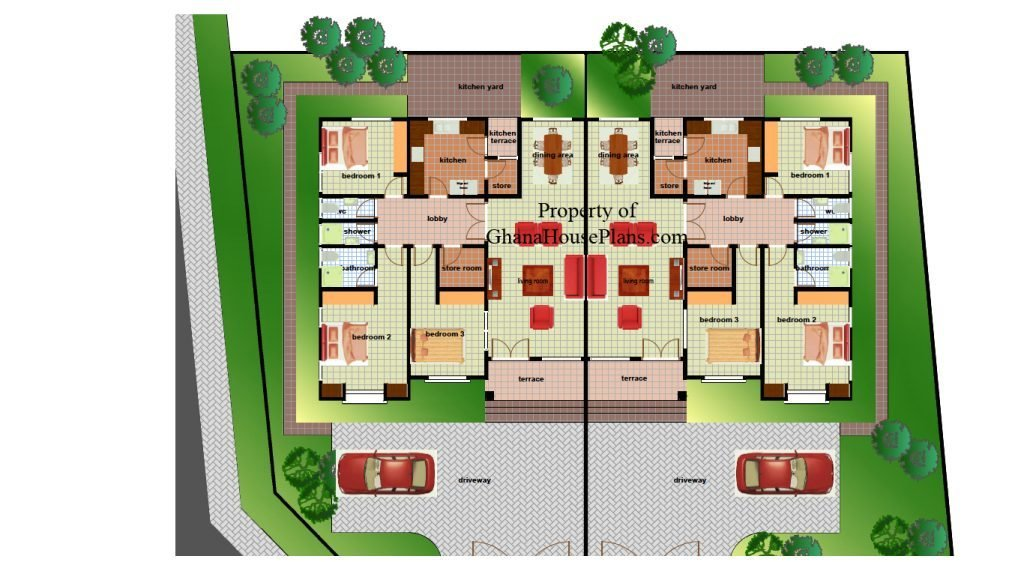 Best 4 Bedroom House Plan For A Growing Family In Ghana With Pictures