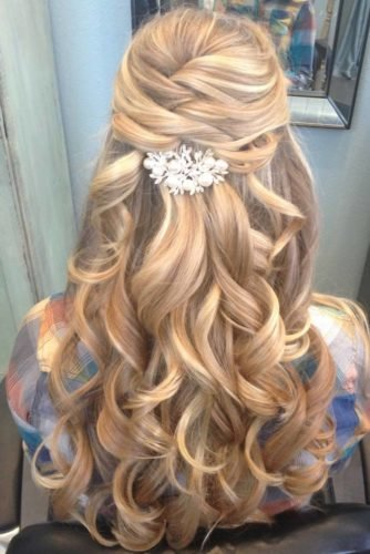Free 68 Stunning Prom Hairstyles For Long Hair For 2019 Wallpaper