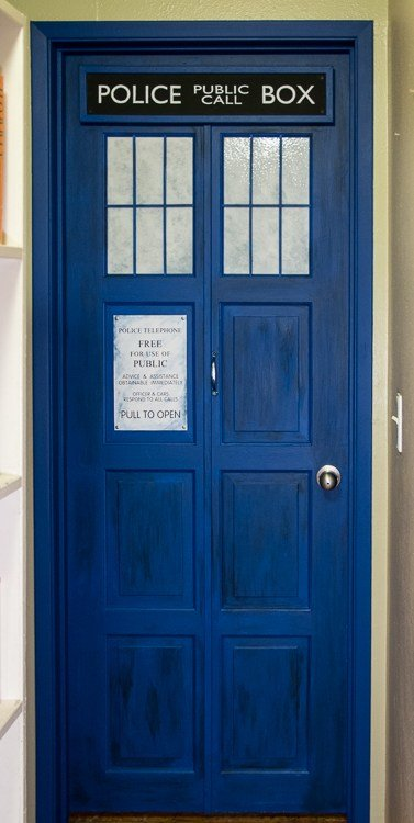 Best Tardis Bedroom Door Omnirambles With Pictures