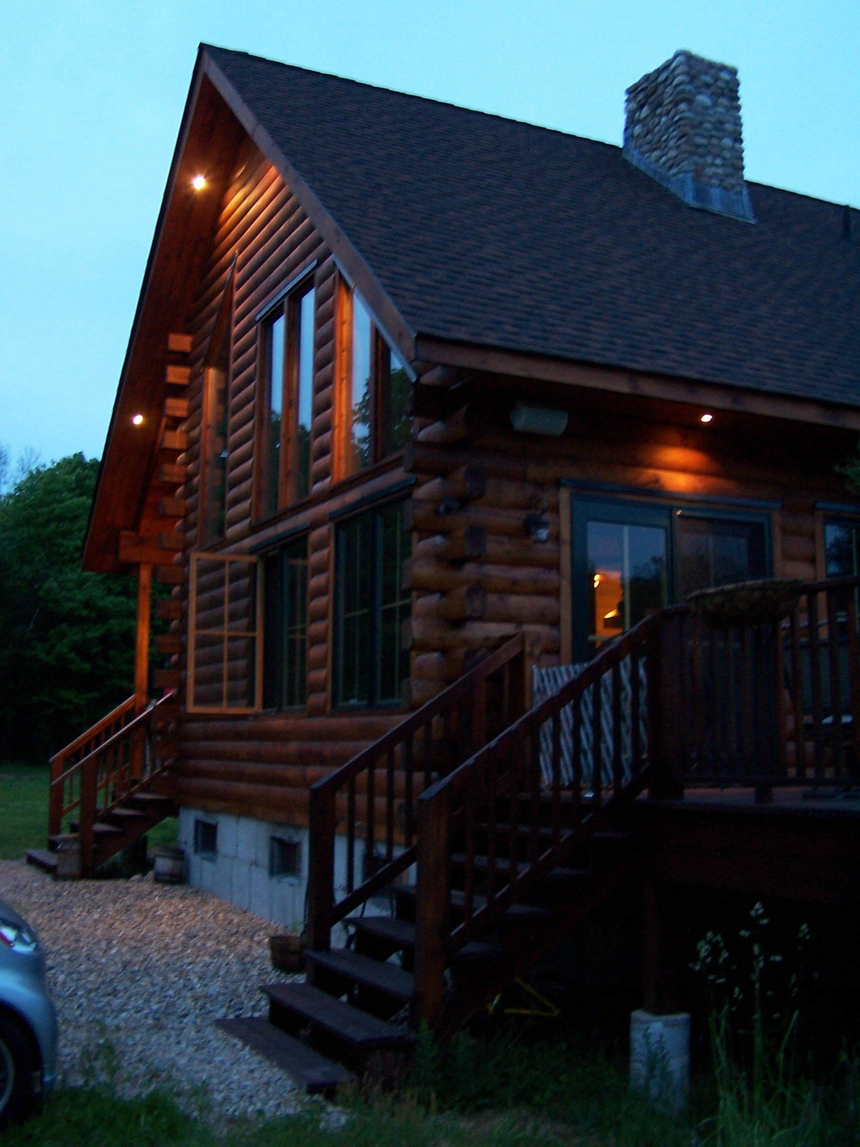 Best Salem Road House Construction Of Our Lincoln Log Home With Pictures