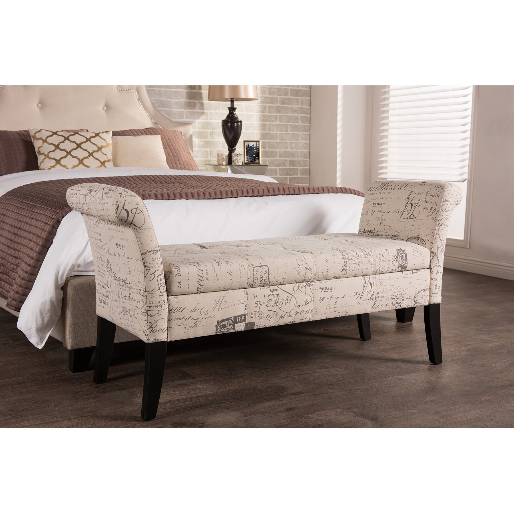Best Wholesale Interiors Baxton Studio Upholstered Storage With Pictures