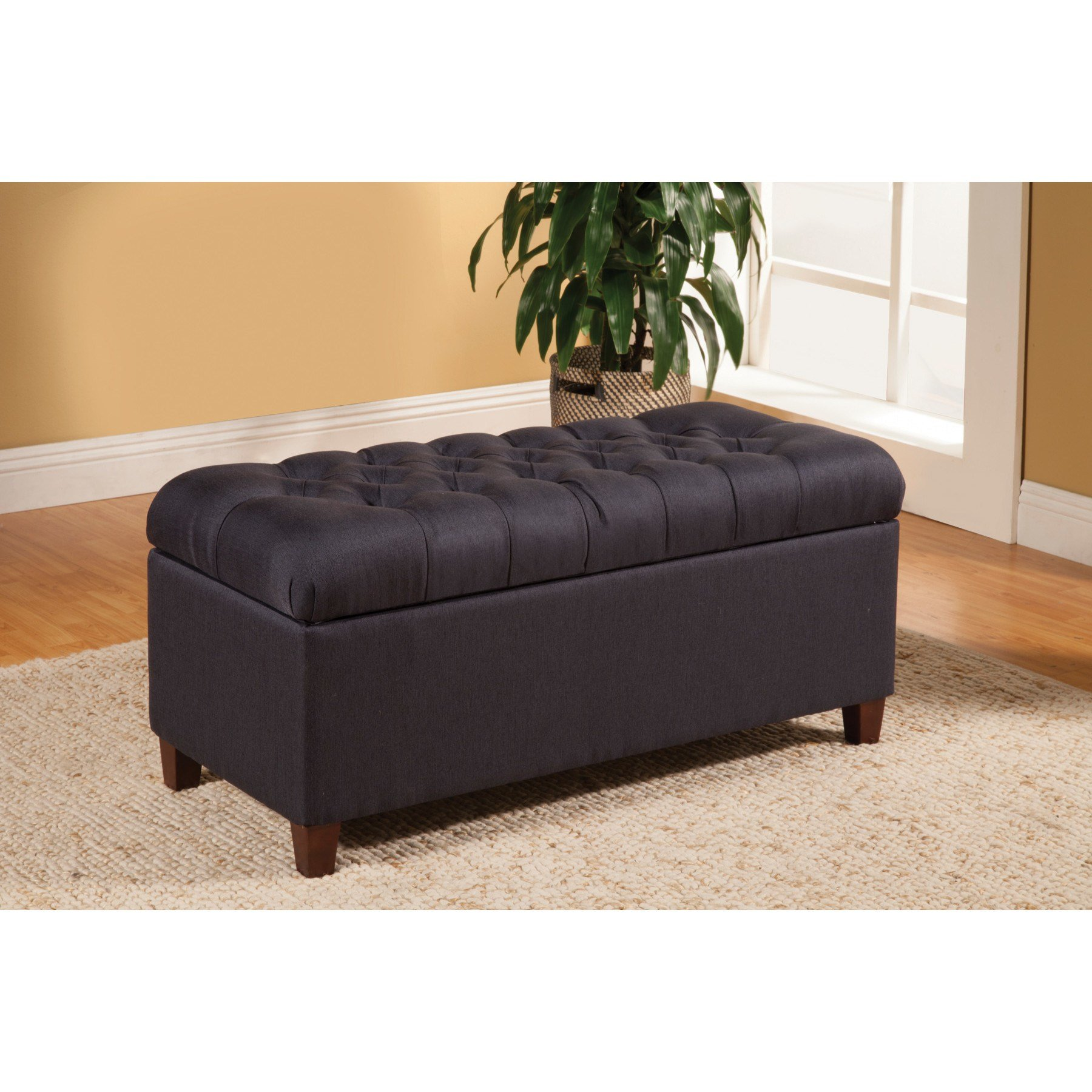Best Alcott Hill Henderson Upholstered Storage Bedroom Bench With Pictures