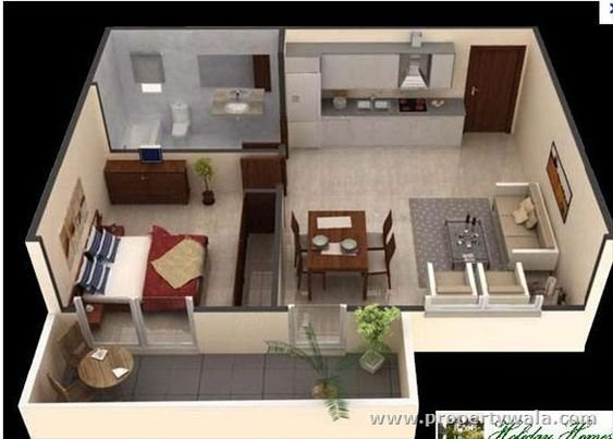 Best 1 Bedroom Apartment Decorating Bedroom Apartment Flat With Pictures