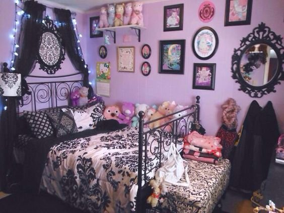 Best Pastel Goth Room Wall Color Bedspread Ish ♡ Decoração Quartos ♡ Pinterest Pastel Room With Pictures