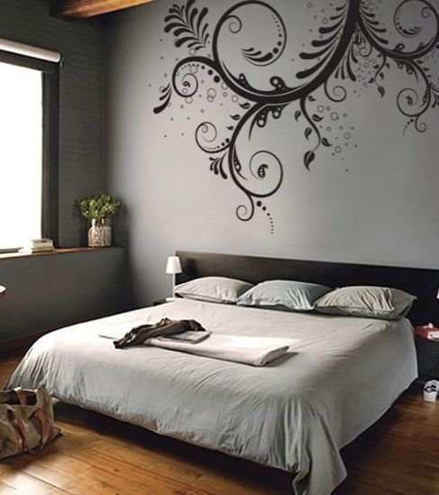 Best The Use Of Floral Wall Stencils To Paint And Create Unique With Pictures
