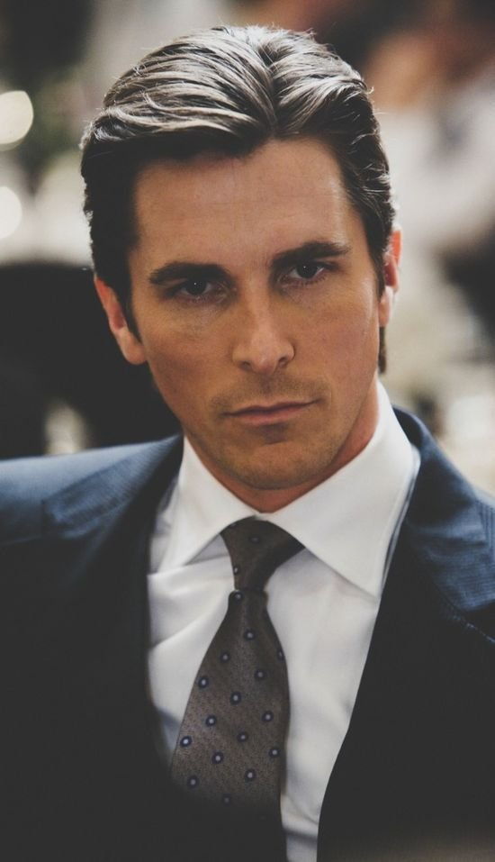Free Christian Bale Suit And Haircut Celebrities Pinterest Wallpaper