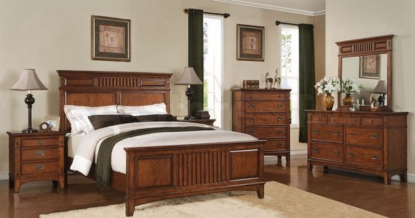 Best Rooms To Go Mission Style Bedroom Furniture 5 Piece With Pictures