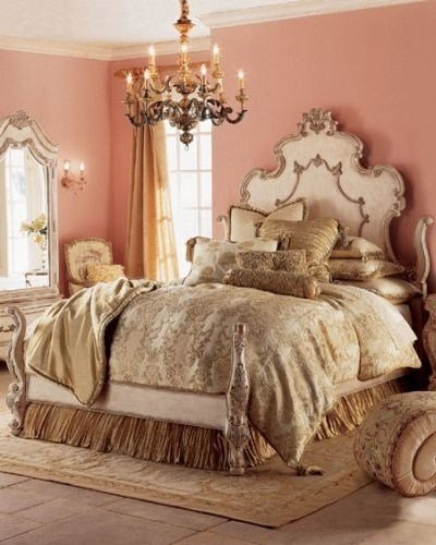 Best Pink And Gold Bedroom Dream Room Pinterest Classy With Pictures